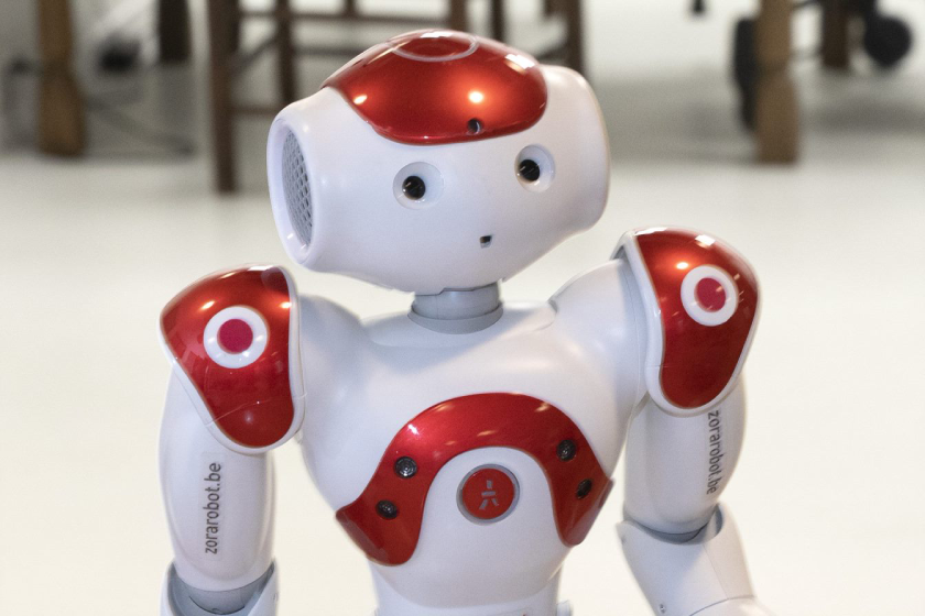 Robot Pepper helpt in de gehandicaptenzorg