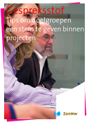 Tips participatie ZonMw
