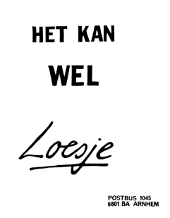 Loesje over inclusie