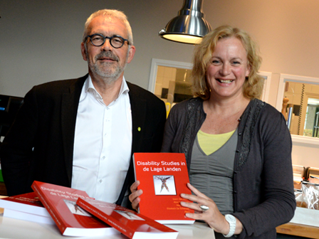 Bundel Disability Studies in de Lage Landen met Geert en Alice